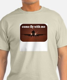Come Fly With Me Mens Shirt