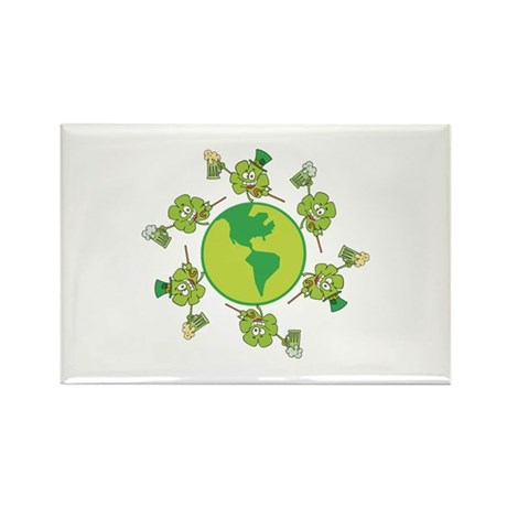 Saint Patrick's Day Rectangle Magnet (100 pack)
