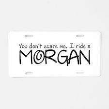 Morgan Aluminum License Plate