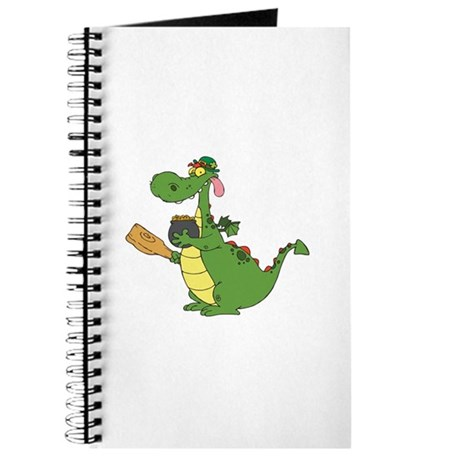 Saint Patrick's Day Dragon Journal