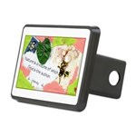 Nature Quote Collage Rectangular Hitch Cover
