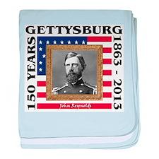 John Reynolds - Gettysburg baby blanket