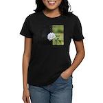 Romantic White Rose Women's Dark T-Shirt