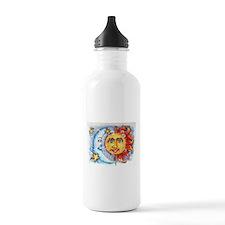 Celestial Sun and Moon Water Bottle