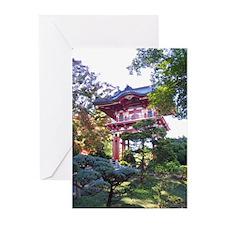 Tea Garden Greeting Cards (Pk of 10)