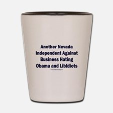 Nevada Independent Shot Glass