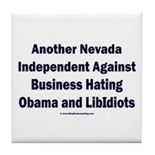Nevada Independent Tile Coaster