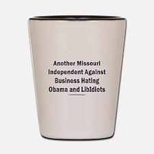 Missouri Independent Shot Glass