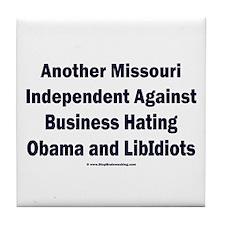 Missouri Independent Tile Coaster