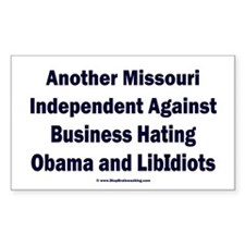 Missouri Independent Decal