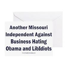 Missouri Independent Greeting Card