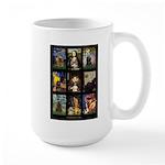 Famous Art Cocker Comp Large Mug