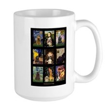 Famous Art Cocker Comp Mug