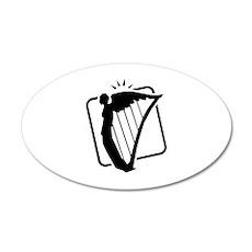 Saint Patrick's Day 22x14 Oval Wall Peel