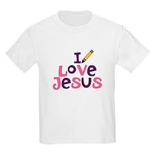 I Love Jesus/Jesus Loves Me T-Shirt
