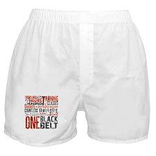 ONE BLACK BELT Boxer Shorts