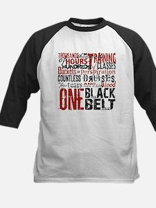 ONE BLACK BELT Kids Baseball Jersey