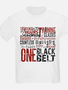 ONE BLACK BELT T-Shirt