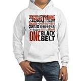 Black belt Hooded Sweatshirt
