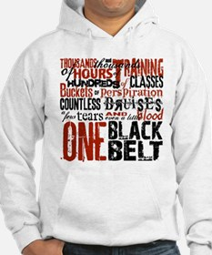 ONE BLACK BELT Hoodie Sweatshirt
