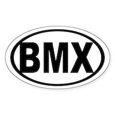 BMX Oval Decal