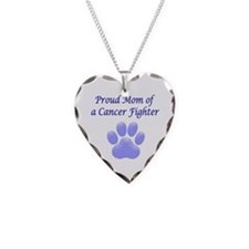 Proud Mom of a Cancer Fighter Necklace