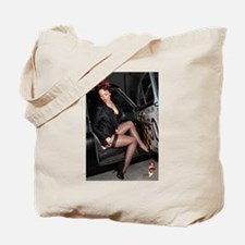Fishnet Sidedoor Tote Bag