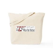 NB_Wire Fox Terrier Tote Bag