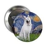 Starry-White German Shepherd 2.25