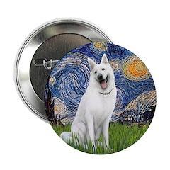 Starry-White German Shepherd 2.25