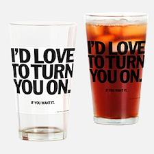 Turn Drinking Glass