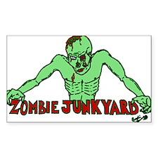 Zombie Junkyard Decal
