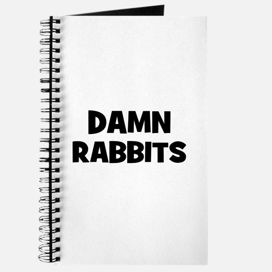 Damn Rabbits Journal