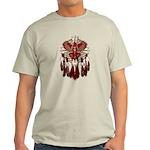 Native Cardinal Mandala Light T-Shirt