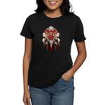 Native Cardinal Mandala Women's Dark T-Shirt