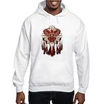 Native Cardinal Mandala Hooded Sweatshirt