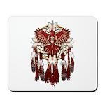 Native Cardinal Mandala Mousepad