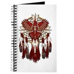 Native Cardinal Mandala Journal