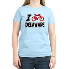 I Love Cycling Delaware T-Shirt