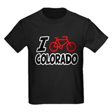 I Love Cycling Colorado T