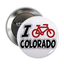 "I Love Cycling Colorado 2.25"" Button"