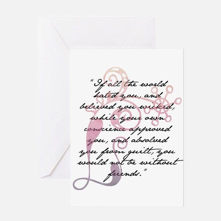 Jane Eyre Quote Greeting Card