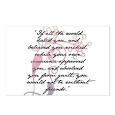 Jane Eyre Quote Postcards (Package of 8)