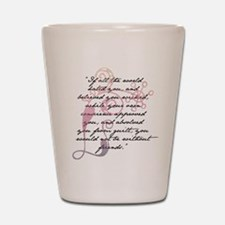 Jane Eyre Quote Shot Glass
