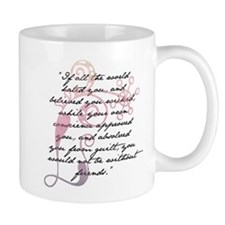 Jane Eyre Quote Small Mug