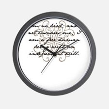 I am no bird Wall Clock