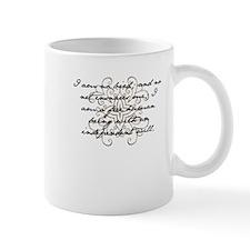 I am no bird Small Mug