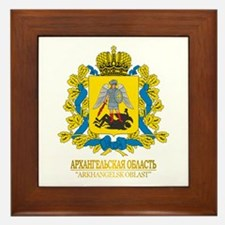 Arkhangelsk Oblast COA Framed Tile