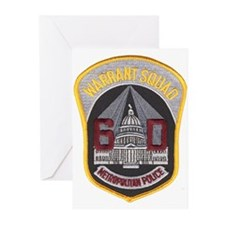 DC Warrant Squad Greeting Cards (Pk of 10)