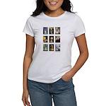 FamousArtSchnauzers (clr) Women's T-Shirt